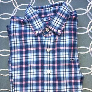 Vineyard Vines NWOT Light weight flannel shirt